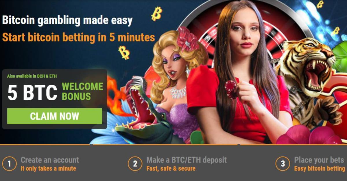 Top online bitcoin casino 2020