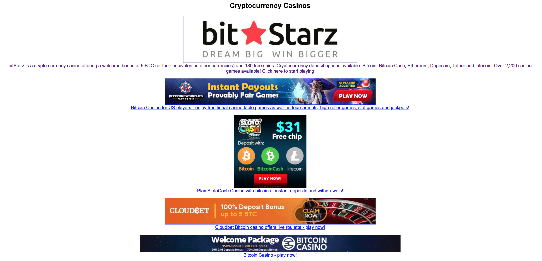 Classic bitcoin casino music
